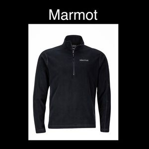 Marmot Small Black Fleece